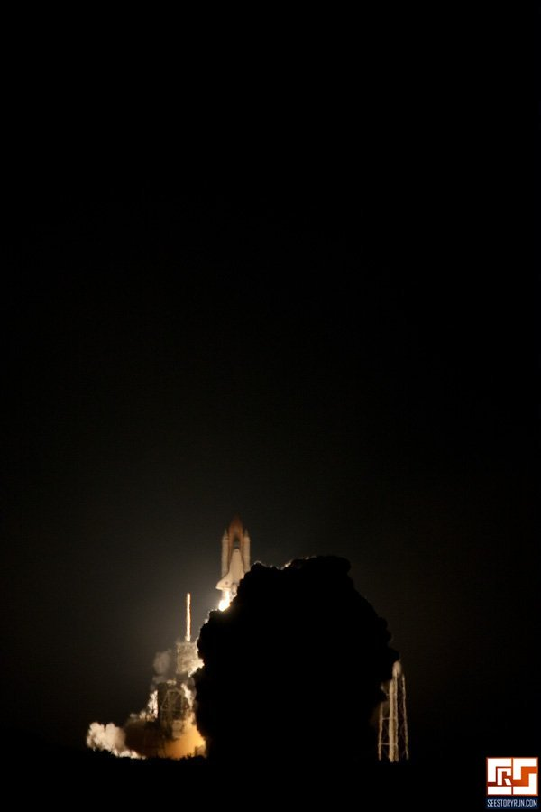 space shuttle endeavour night launch - photo #13