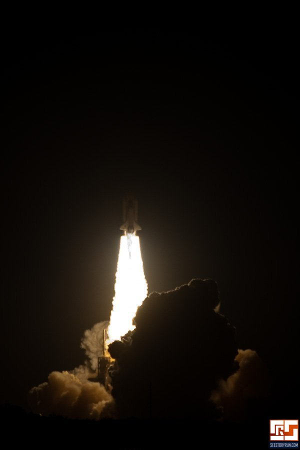 space shuttle endeavour night launch - photo #14